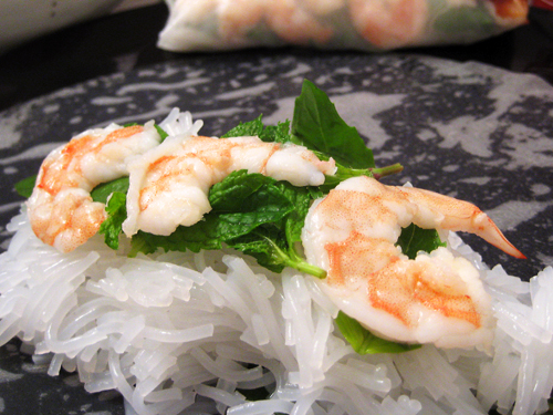 ve been making these vietnamese summer rolls or spring rolls ...