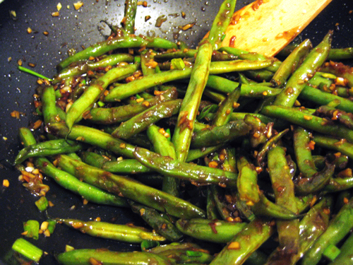 ... and sichuan sichuan style style green spicy sichuan style green