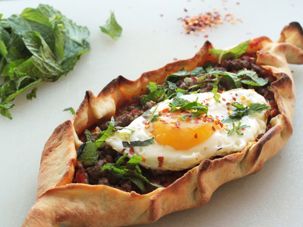 Pide Turkish Pizza Rice And Wheat